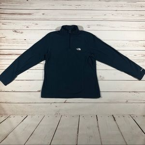 The North Face Navy 1/4 Zip Pullover Jacket